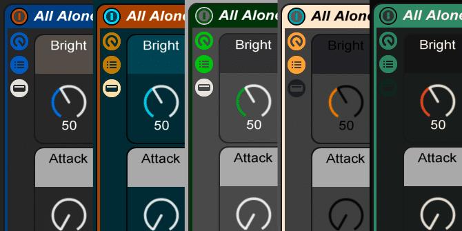 Ableton Live Skins 4