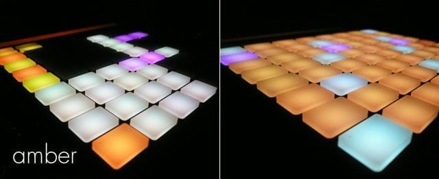 Ableton Push Skin: amber
