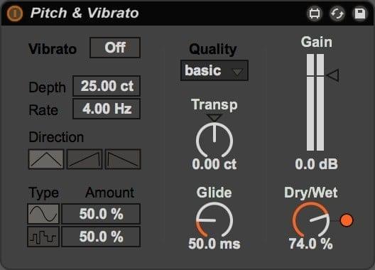 Pitch & Vibrato