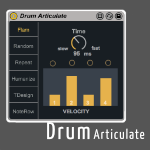 Drum Articulate by Max for Cats