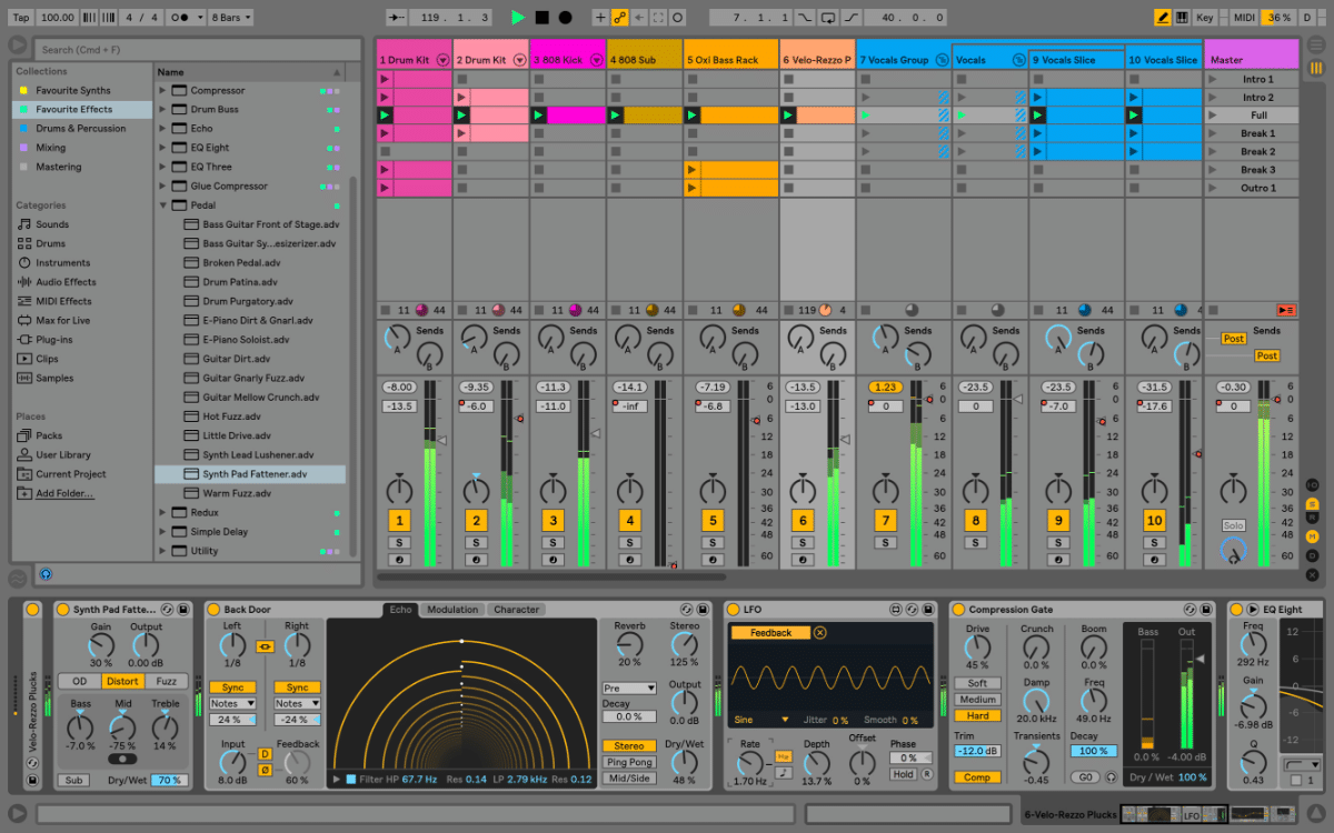 ableton live 10 announced a deeper look into the new features sonic bloom. Black Bedroom Furniture Sets. Home Design Ideas