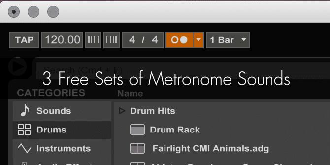 Metronome Sounds