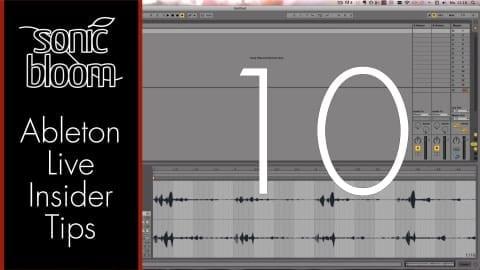 Ableton Live Insider Tips – Play an Audio Clip Tonally with