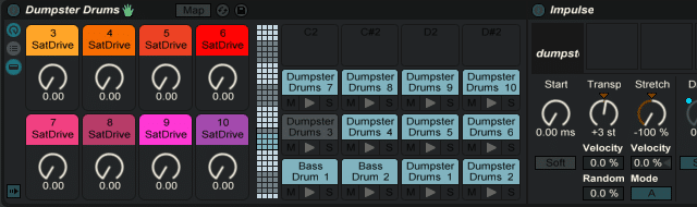 Dumpster Drums Live Pack