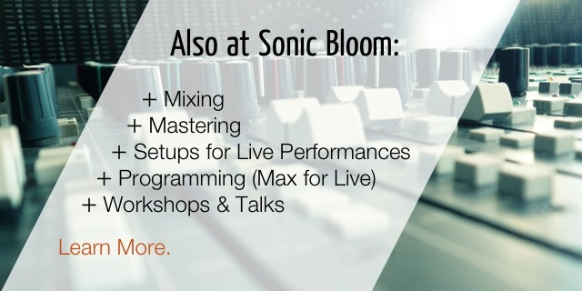 Mixing, Mastering, Custom Live Performance Setups & Max for Live Programming