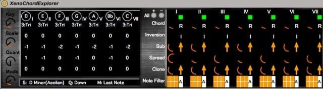Xeno - Chord Explorer