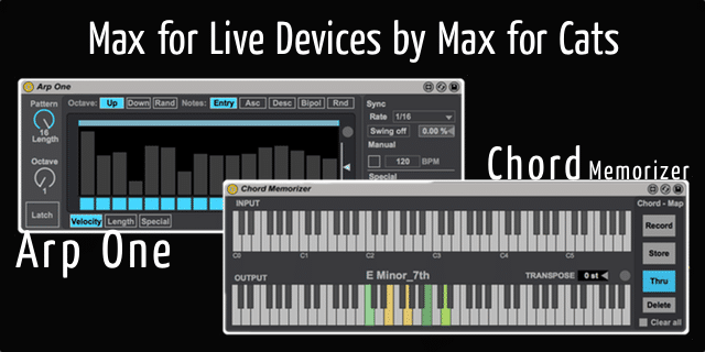 Max for Live Devices by Max for Cats