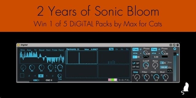 2 Years of Sonic Bloom - DiGiTAL by Max for Cats