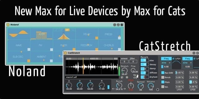 New Max for Live Packs by Max for Cats