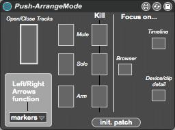 Push-ArrangeMode