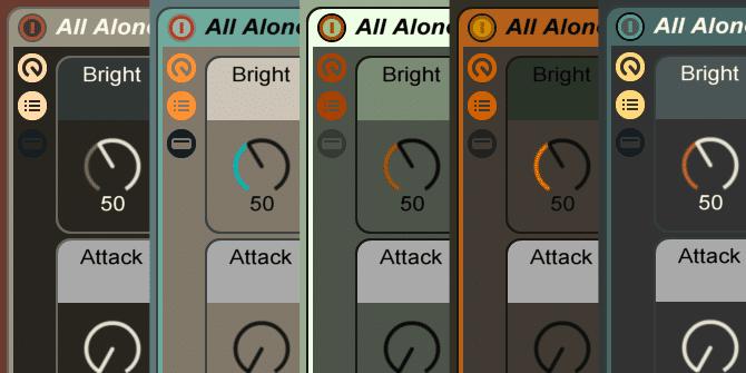 Ableton Live Skins 8