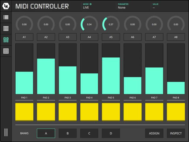 LK MIDI Controller Module