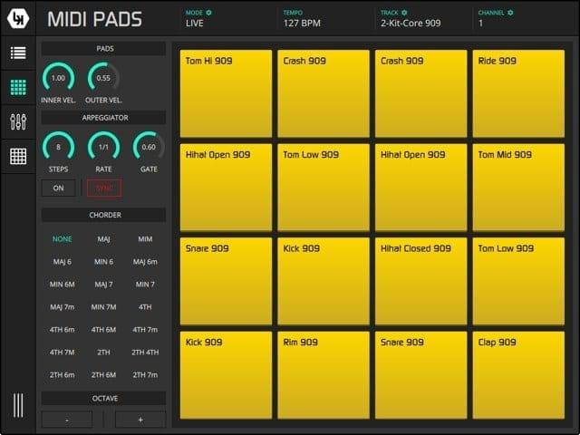 LK MIDI Pads Module