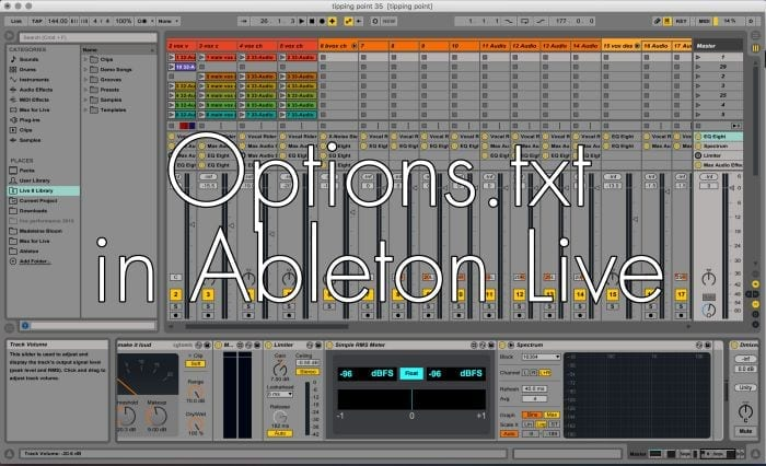 New features in Ableton Live with Options.txt