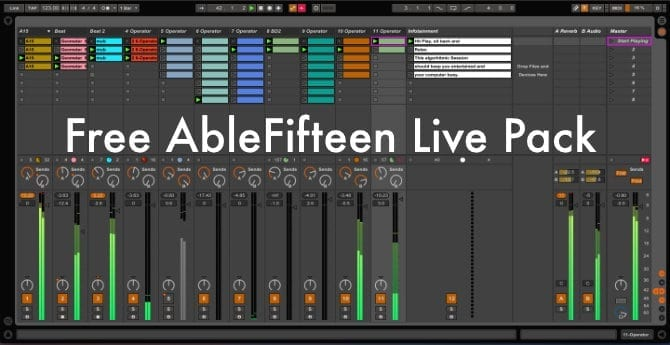 Free AbleFifteen Live Pack
