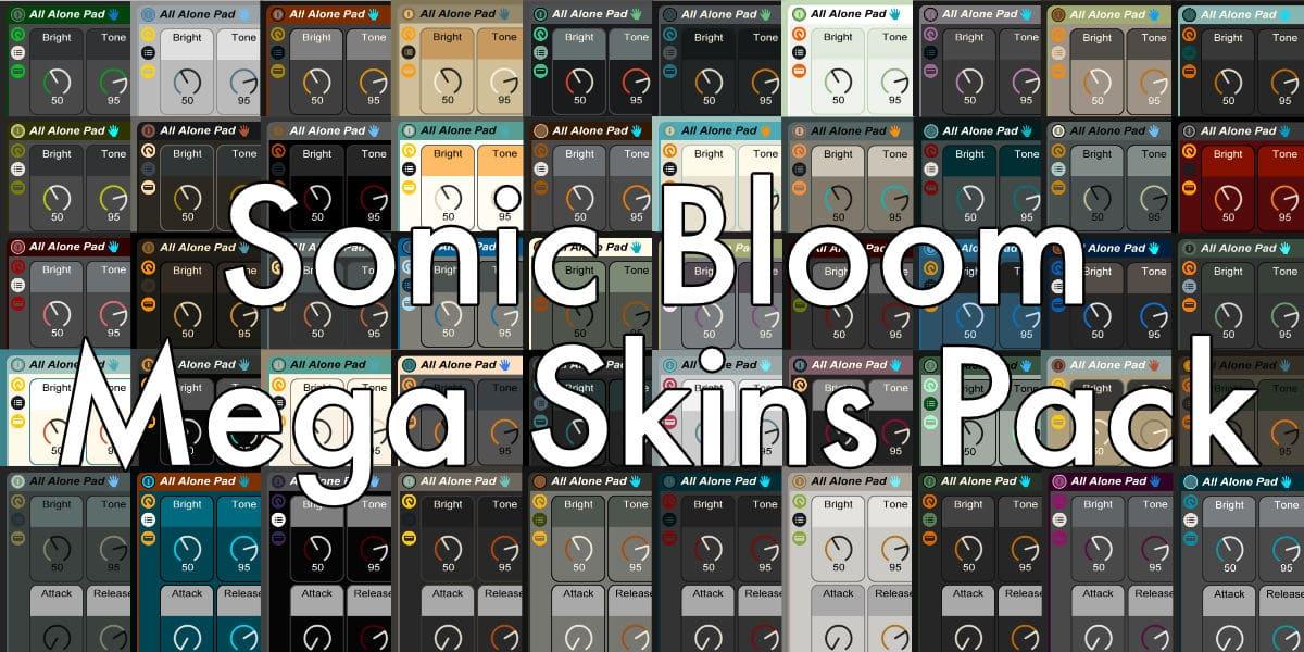 Sonic Bloom Ableton Live Skins Mega Pack