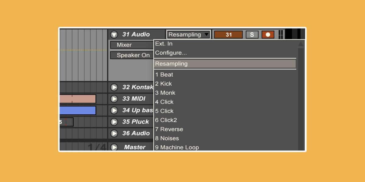 Resampling: Different Methods in Ableton Live   Sonic Bloom
