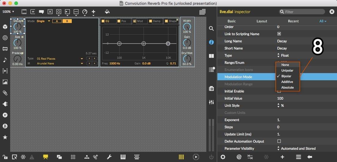 Modulation Mode setting