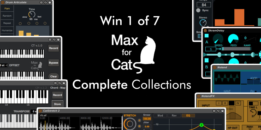 Win 1 of 7 Max for Cats Complete Collections